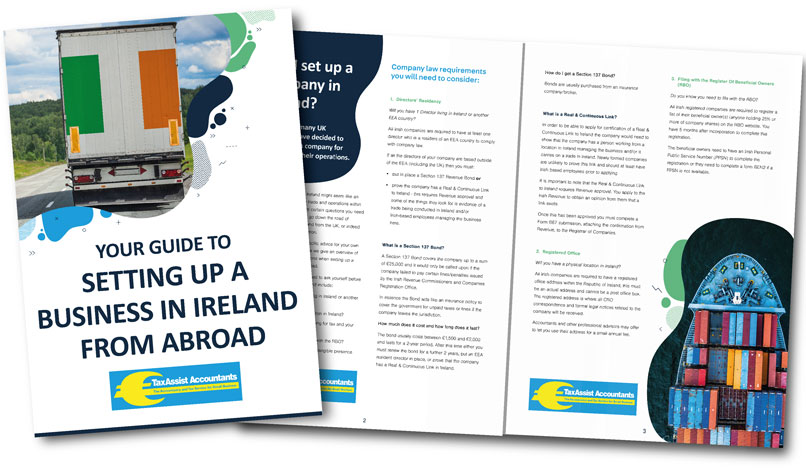 Guide to setting up a business in Ireland from abroad