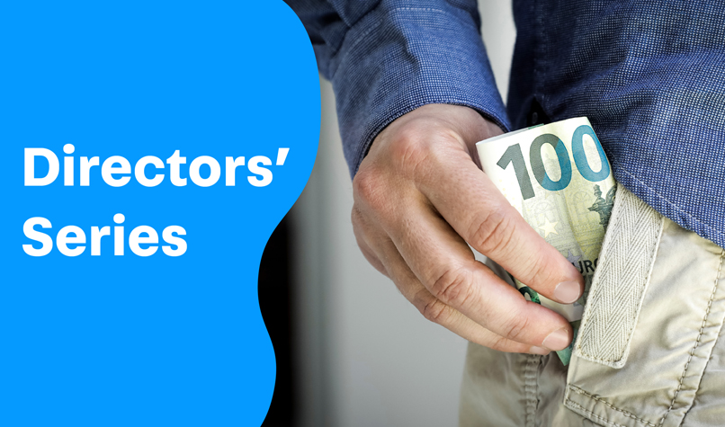 How does a company director get paid?